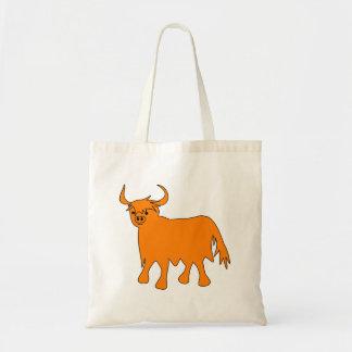 Scottish Highland Cow tote bag image