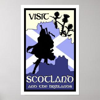 Scottish Highland Poster
