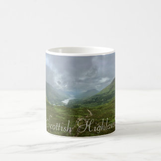 Scottish Highlands Loch Leven View from Mountain Coffee Mug