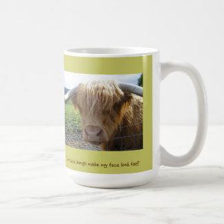 Scottish Highlands Steer Humor - Mug