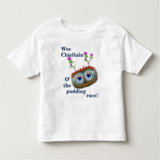 Scottish Hoots Toots Haggis. Wee Chieftain. Toddler T-Shirt
