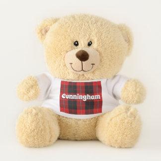 Scottish Hugs Clan Cunningham Tartan Plaid Teddy Bear