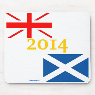 Scottish Independence 2014 Mousemat