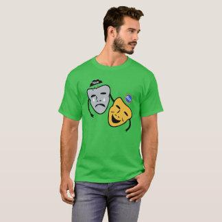 Scottish Independence Aye Drama Masks T-Shirt