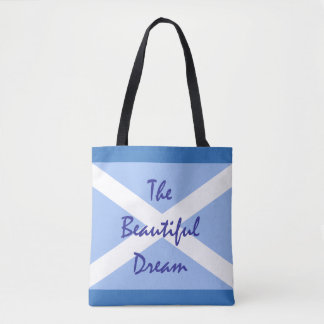 Scottish Independence Beautiful Dream Flag Tote Bag