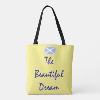 Scottish Independence Beautiful Dream Saltire Tote Bag