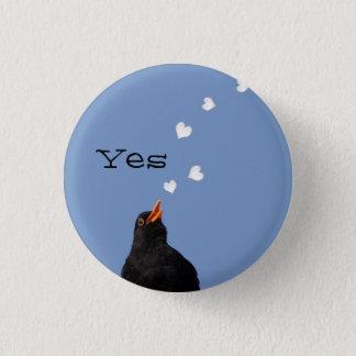 Scottish Independence Blackbird Song Button