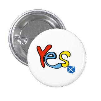 Scottish Independence Bright Yes Badge