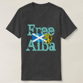 Scottish Independence Gaelic Free Alba Lion T Shirts