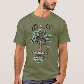 Scottish Independence Glasgow Yes City T-Shirt