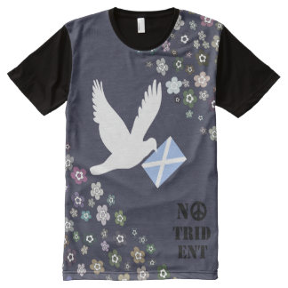 Scottish Independence No Trident White Dove Top