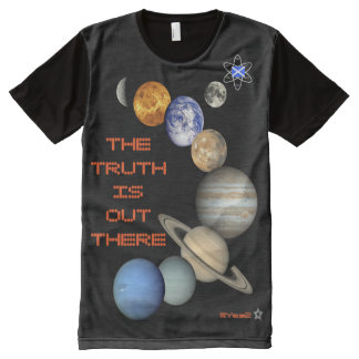 Scottish Independence Outer Space Media All-Over Print T-Shirt