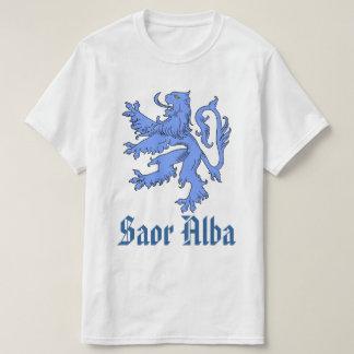 Scottish Independence Saor Alba Blue Lion T-Shirt