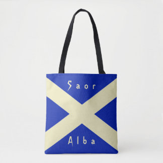 Scottish Independence Scotland Flag Tote Bag