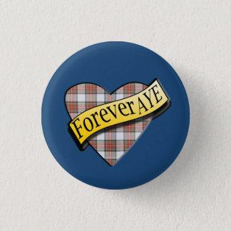 Scottish Independence Tartan Forever Aye Badge
