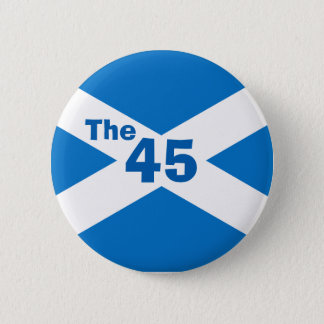 Scottish Independence The 45 Saltire Badge