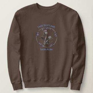 Scottish Independence Thistle Saor Alba Sweatshirt