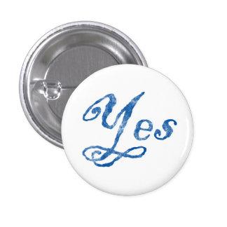 Scottish Independence Yes Badge