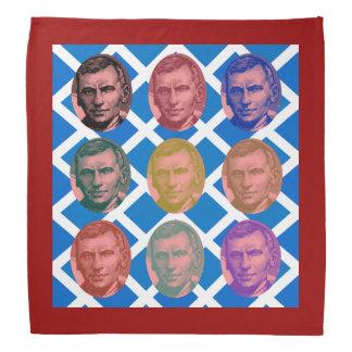 Scottish John Maclean Saltire Pattern Bandana
