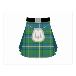 Scottish Kilt Postcard