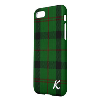 Scottish Kincaid Clan Tartan Plaid iPhone Case