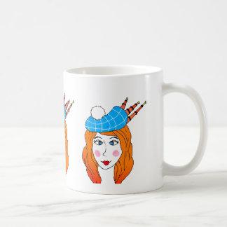 Scottish lady mug