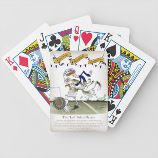scottish left wing footballer bicycle playing cards