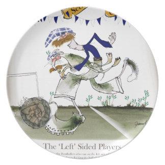 scottish left wing footballer plate