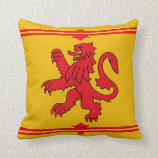 Scottish lion. cushion