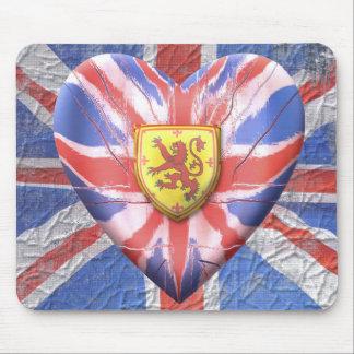 Scottish Lion Mouse Pad