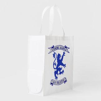 Scottish Lion Rampant Free Scotland Forever Bag Grocery Bag