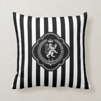 Scottish Lion Stripe Personalize Cushion