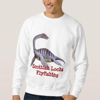 Scottish Lochs Flyfishing- Nessie Apparel Sweatshirt