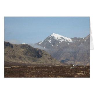 Scottish Lochs, Rivers & Mountains Card