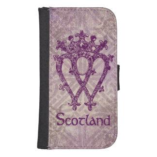 Scottish Luckenbooth Purple Celtic Knot