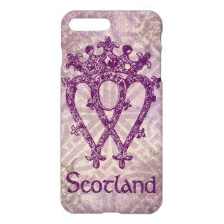 Scottish Luckenbooth Purple Celtic Knot iPhone 7 Plus Case