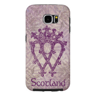Scottish Luckenbooth Purple Celtic Knot Samsung Galaxy S6 Cases