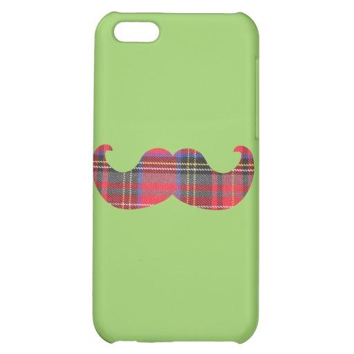 Scottish Mustache (or scottache moustache) Cover For iPhone 5C