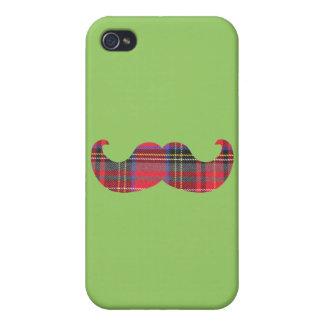 Scottish Mustache (or scottache moustache) iPhone 4 Case