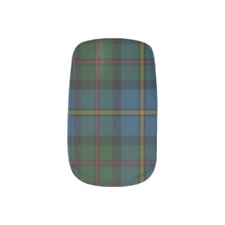 Scottish Pride Minx Nail Art