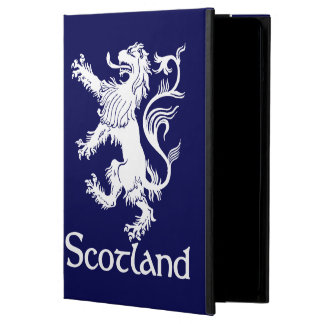 Scottish Rampant Lion Navy Blue iPad Air Cover