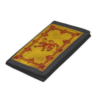 Scottish Rampant Lion Tri-fold Wallet