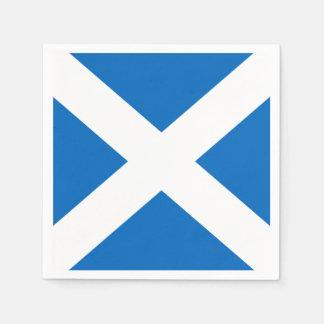 Scottish Saltire Party Disposable Serviette