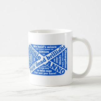 Scottish slang and phrases basic white mug