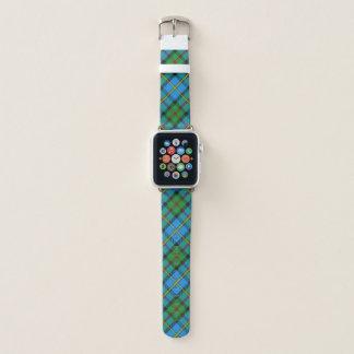 Scottish Style Clan MacLeod of Harris Tartan Plaid Apple Watch Band