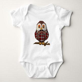 Scottish tartan Barn Owl T-Shirts