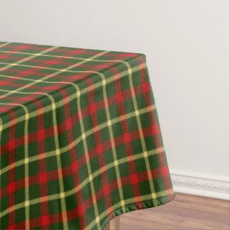 Scottish Tartan Clan Plaid Patterned Tablecloth