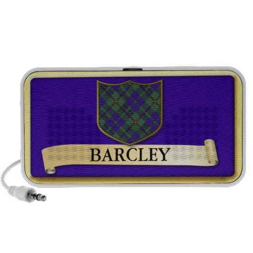 Scottish Tartan design - Barcley - Personalise iPhone Speaker