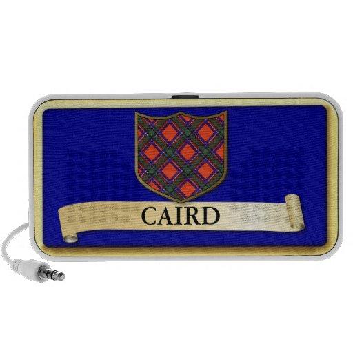 Scottish Tartan design - Caird - Personalise Notebook Speaker