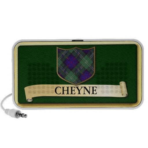 Scottish Tartan design - Cheyne - Personalise iPhone Speaker